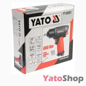 Пневматичний гайковерт 400 NM Yato YT-09501 фото