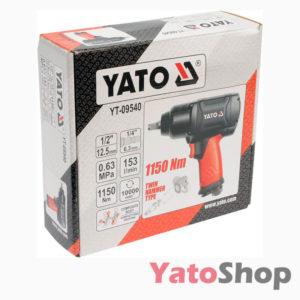Пневматичний гайковерт для СТО Yato YT-09540 фото