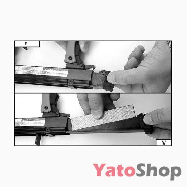 Пневматичний скобозабивний пістолет 8-22мм YT-0920 Луцьк