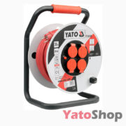 Подовжувач на котушці 30м 3G 2.5мм2 YT-8106