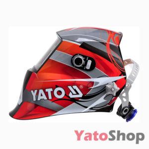 Професійна зварювальна маска хамелеон Yato YT-73921 Львів