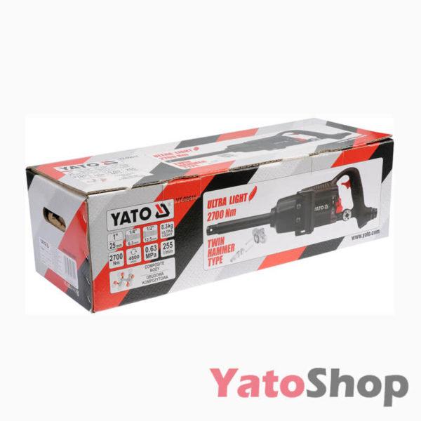 Професійний пневматичний гайковерт Yato YT-09611 Тернопіль
