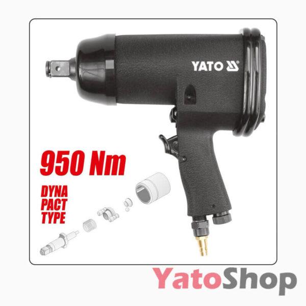 Ударний пневматичний гайковерт Yato YT-0956