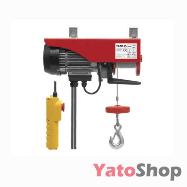 YT-5905 Таль електрична канатна 1050Вт. 300-600кг